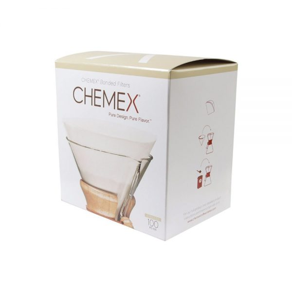 Chemex Bonded Filter Paper (Pre-Folded Squares) - 103 Coffee