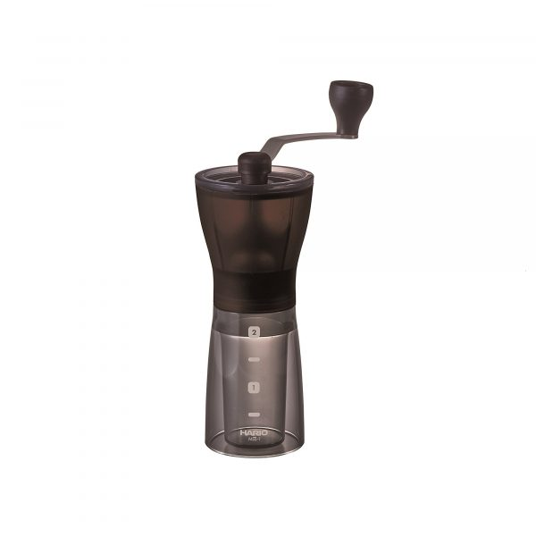 Hario Mini Slim Plus Hand Coffee Grinder (MSS-1B) Ceramic Burrs - Malaysia
