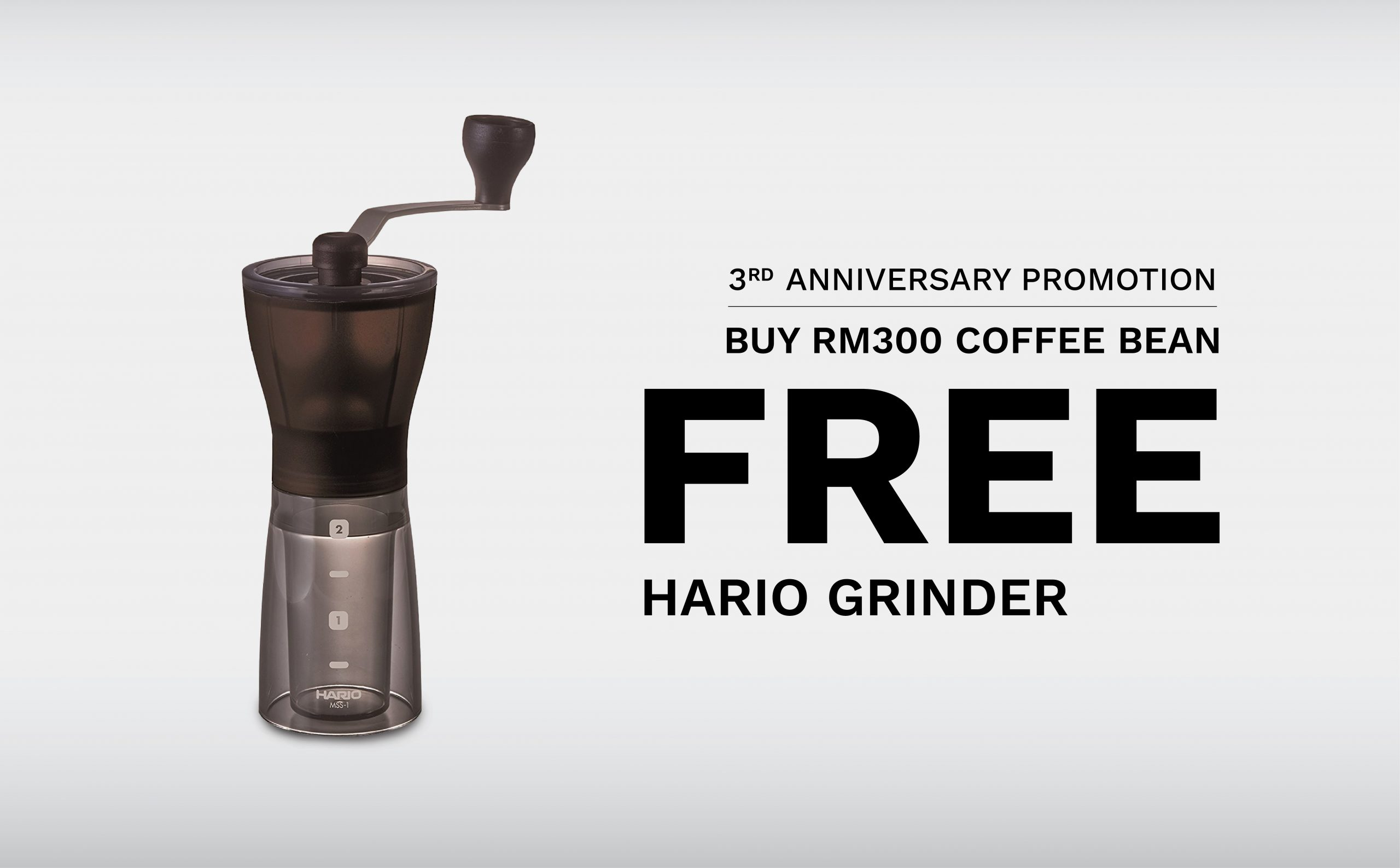 3rd Years Anniversary_free hand grinder